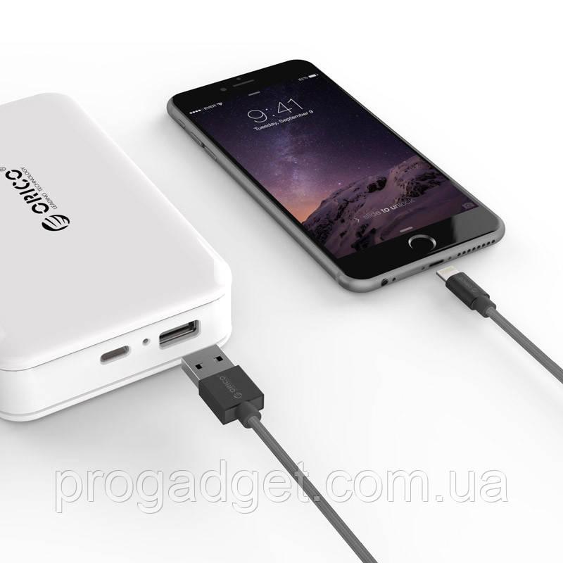 ORICO LTF-10 USBdata cable 1 м экранированныйLightningкабель для продуктов Apple IPhone, IPad 3A