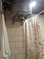 Душ для бани ведро IBAAT 1 в нержавейке (60 литров), фото 1