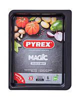 Magic Форма для выпечки прямоугольная 35х26 см сталь с антипригарным покрытием Pyrex