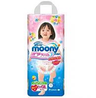Трусики Moony для девочек Big (12-17кг) 38 шт