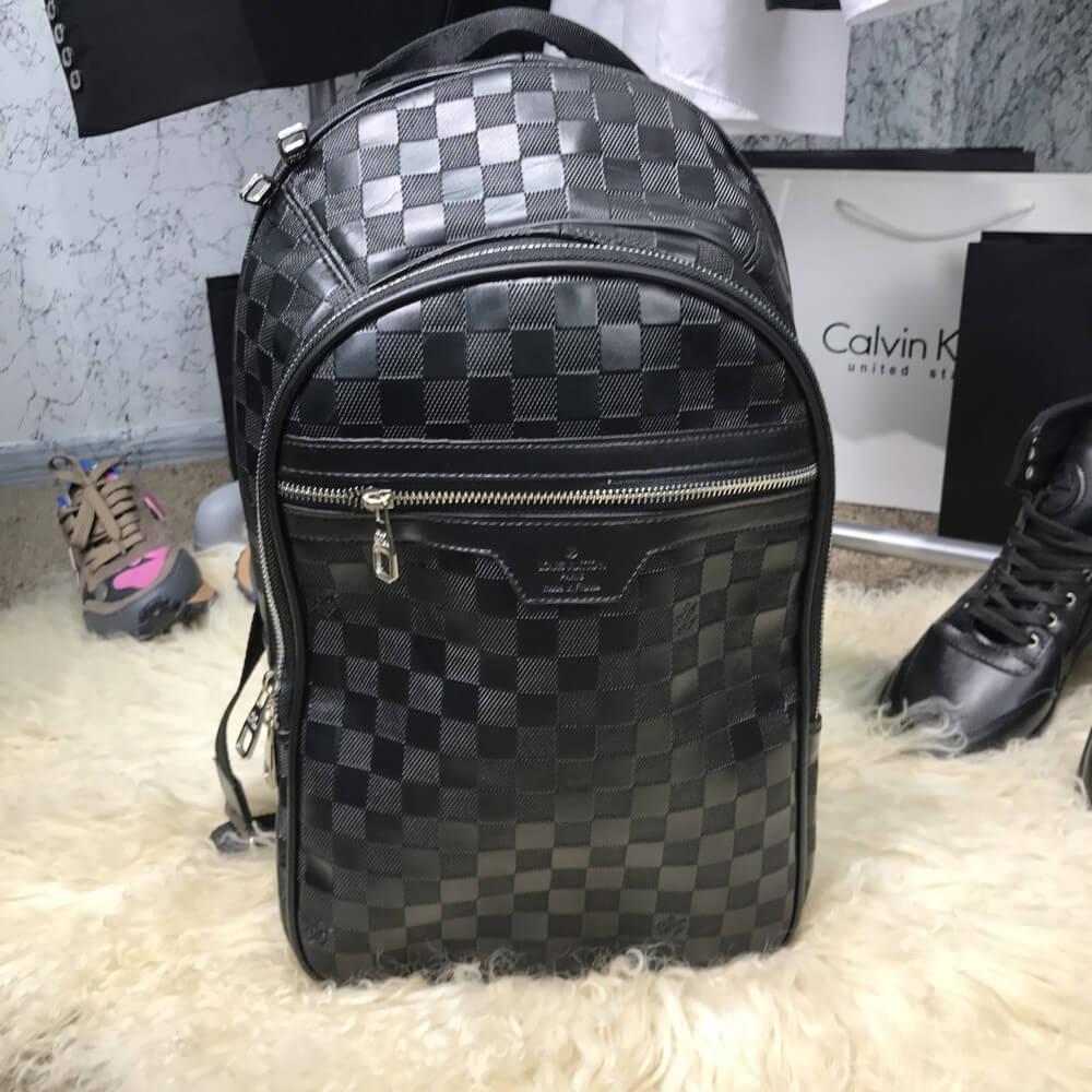 Мужской портфель Backpack Louis Vuitton Michael Damier Infini ... aa7f7d16ed2