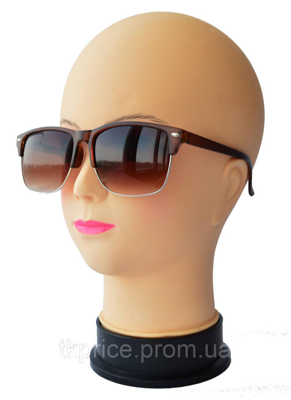 Женские солнцезащитные очки качественная реплика Ray Ban матовые 641 -  Интернет-магазин