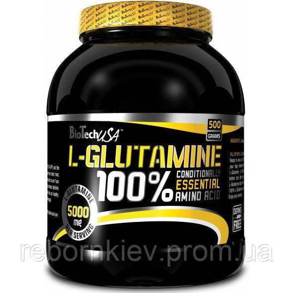 100% L-глютамин BioTech (500 гр.)