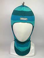 Весенняя шапка-шлем для мальчика Dino 1715-32