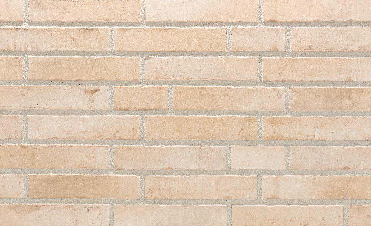 Клинкерная плитка Stroeher 470 beige engobiert, серия KONTUR EG формат DF 240х52х12
