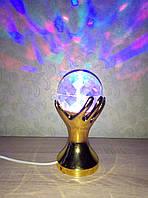 Светильник ночной крутящийся разноцветный Рука RHD-17