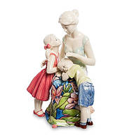 "Фарфоровая фигурка ""Мама и дети""  (Pavone) jp-12/26"