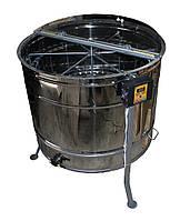Радиальная медогонка Н/Ж автомат (27 рамок Дадан, 54 рамок Рута, 54 магазинные рамки), фото 1