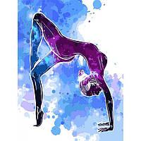 Картина по номерам Люди - Зоряна йога КНО2684