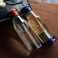 My Bottle стекло,бутылочка Май Батл 420мл + Чехол