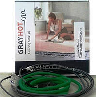 1,3 м2. Тепла підлога GrayHot. Нагрівальний кабель