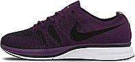 Женские кроссовки Nike Flyknit Trainer Night Purple/Black (Найк Флайнит) фиолетовые