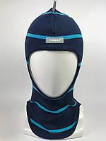 Весенняя шапка-шлем для мальчика Dino 1715-22
