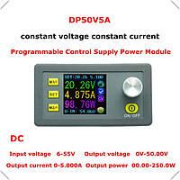 DC-DC Понижающий преобразователь,модуль c LCD, рег. CC/CV (DP50V5A), фото 1