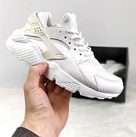 Кроссовки Nike Air Huarache White Scales. Живое фото. (Реплика ААА+)