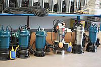 Дренажно фекальный насос WQD1800 для канализации с НОЖОМ