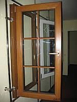 МЕТАЛЛОПЛАСТИКОВОЕ ОКНО Steko R-500 со шпроссами, фото 1