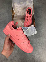 Кроссовки Adidas Stan Smith pink. Живое фото. Топ качество. Топ реплика ААА+
