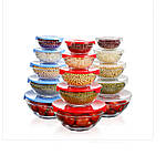 Универсальные Стеклянные Судочки с Пластиковой Крышкой в наборе 5 шт