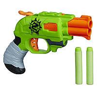 Бластер Нерф Двойной Удар ДаблСтрайк Зомби страйк Nerf Zombie Strike Doublestrike Blaster