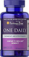 Puritan's Pride One Daily Womens Multivitamin 200 caplets