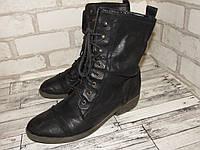 Стильные ботинки женские Германия 40р ст.25,5см H98