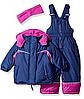 Зимний раздельный комбинезон Pink Platinum(США) сиреневый для девочки 12мес
