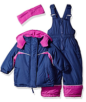 Зимний раздельный комбинезон Pink Platinum(США) сиреневый для девочки 12мес, фото 1