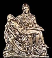 Накладка барельеф на памятник Пьета (Оплакивание Христа), фото 1