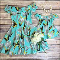 Платья для мамы и дочки, фото 1