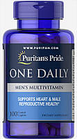 Puritan's Pride One Daily Men's Multivitamin 100 caplets