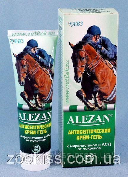 Алезан антисептический крем с мирамистином и АСД (Агроветзащита) — 100 мл