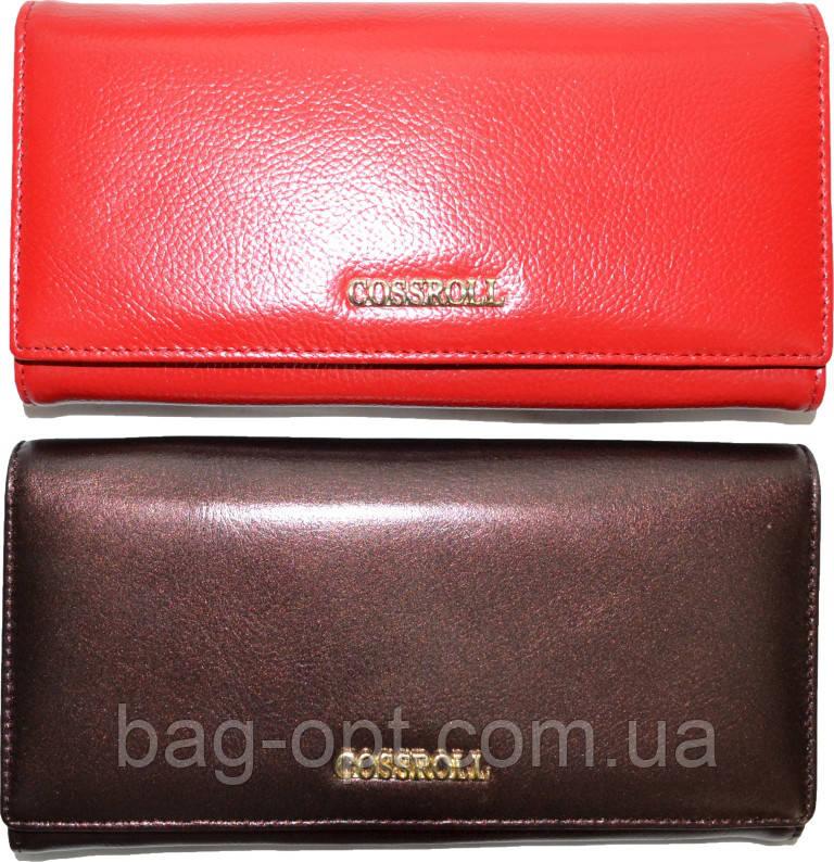 6b21f715fb66 Женский кошелек из натуральной кожи Cossroll (10.5x19.5) : продажа ...