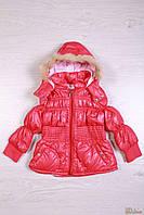 Курточка демисезонная розовая для маленькой девочки (98 см)  No name 2100000251070