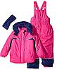 Зимний раздельный комбинезон Pink Platinum(США) розовый для девочки 12мес
