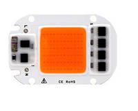 Светодиодный чип фито  для растений  LED 50вт 230в Full Spectrum
