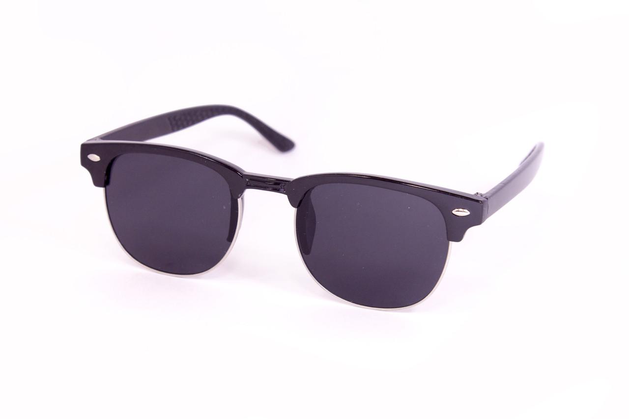 Очки детские clabmaster черные 8480-1