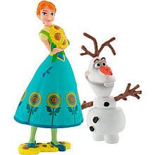 Набор фигурок Bullyland Анна и снеговик