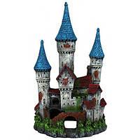 Декорация для аквариума Trixie Замок с башенками 12 см (87820)