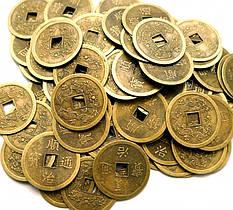 Монеты фен-шуй бронза