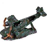 Декорация для аквариума Trixie Разбитый самолет 35 см (8707)