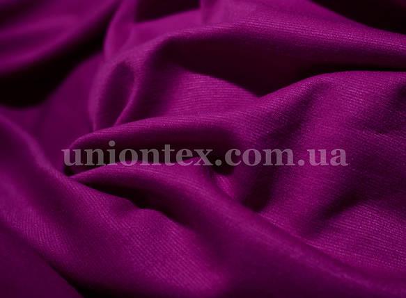 Французский трикотаж фиолетовый, фото 2