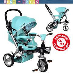 Велосипед M AL3645-14 Бирюзовый (колёса EVA)