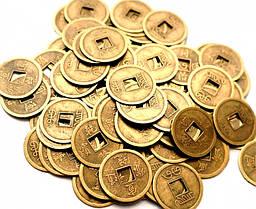 Монеты бронзового цвета Фен-шуй