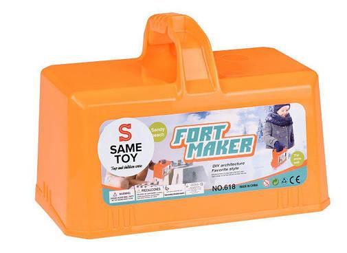 Игровой набор Same Toy 2 в 1 Fort Maker Оранжевый 618Ut-2, фото 2