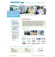Корпоративный сайт компании ЭнергоИнвест (наши работы)