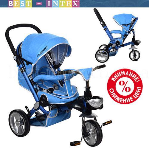 Велосипед M AL3645-12 Голубой (колёса EVA)