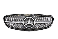 Решетка со звездой Mercedes W205 Classic AMG-стиль (серебро)205043