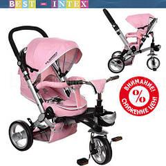 Велосипед M AL3645-10 Розовый (колёса EVA)