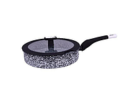Сковорода глубокая 3.8 л. 28 см. EDENBERG EB-3325